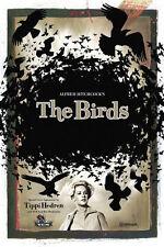 Framed Retro Movie Poster – Alfred Hitchcock The Birds 1963 (Replica Print Art)