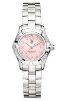 WAF141A.BA0813 Tag Heuer Ladies Aquaracer Swiss Quartz Pearl Diamond  Watch