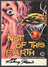 Movie Posters 2007 Sci-Fi & Horror Breygent Autograph Card #Bgac Beverly Garland