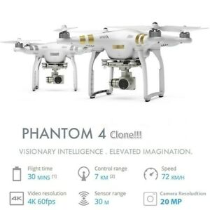 Clone DJI Phantom 4 Pro!!! 1080P Camera Drone Newest RC Drones Remote