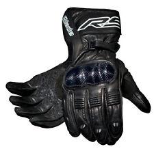 Motorrad-Handschuhe aus Leder in Größe XXL