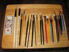 New Professional art paint brushes 32 brush lot Bargain! Look!