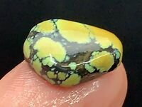 10CT 100% Natural Damele Classic Spiderweb Gold Turquoise Cabochon
