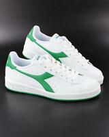 Diadora Scarpe Sportive Sneakers Sportswear GAME P Uomo Bianco Verde