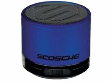 NEW Scosche BoomSTREAM Mini Portable Bluetooth Wireless Media Speaker - BLUE