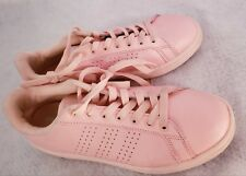 PINK adidas NEO Cloudfoam Advantage preowned Clean Womens Shoes - size 8