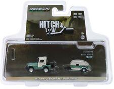 1:64 GreenLight *HITCH & TOW 16* Green 1972 Jeep CJ-5 & TEARDROP CAMPER NIP