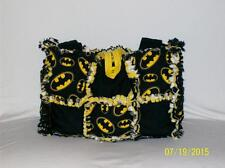 BATMAN Yello Black CUTE Rag Quilt Diaper Bag Tote Purse