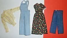1970's Sunshine Family Steve Steffie Hal Grandmom Clothes Mattel Doll
