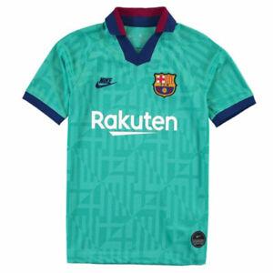 Nike Boys Kids FC Barcelona 2019/20 Third 3rd Football Shirt New Size Youth L
