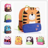 New Kids Girls Boys Children Animal Backpack Zoo School Bag Rucksack Size 3-7Yrs