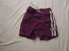Preowned Boy's Size XS L.L. Bean Swim Trunks Bathing Suit Purple in Color NYLON
