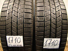 2 x Winterreifen Pirelli Scorpion ice & snow  255/60 R18, 112H, XL, M+S.7,0mm