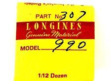 NEW OLD STOCK LONGINES CAL L.990.1 FLAT REGULATOR WATCH PART #307