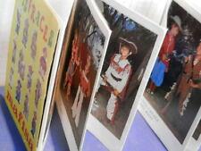 Vecchio catalogo pieghevole DISFRACES MAFISA Vestiti di carnevale per bambini da