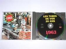 CD LES TUBES DE VOS 20 ANS / 1963 / SUPER COMPIL / TRES BON ETAT