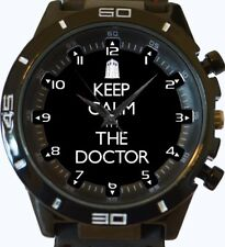 Keep Calm I Am The Doctor New Trendy Sports Series Unisex Gift Wrist Watch