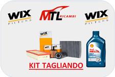 KIT TAGLIANDO KIA CARENS 1.7 CRDI 85KW 116 CV DAL 2013 + 5 LT OLIO SHELL 5W30