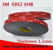 3M VHB 5952 black Double-sided Acrylic Foam Tape Automotive length 33Meter (Roll