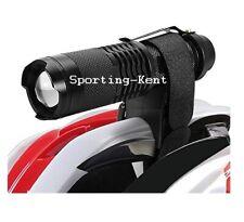 Bike Helmet Torch Mount Airsoft Airgun Scope Mount Adjustable Rip-Straps UK