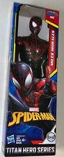 "MARVEL TITAN HERO Miles Morales 12"" POSABLE ACTION FIGURE spider-man• Priority"