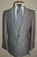 NWT MENS APT. 9 MODERN FIT GRAY 2 BUTTON SPORT COAT SIZE 42R RTL $180