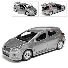 Kia CEED Metal Model Diecast Car Scale, Collectible Toy Cars, Grey, 1/36