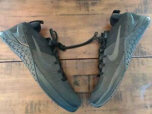 Nike Metcon DSX Flyknit 2 Triple Black Training Shoes Size 12.5 924423-004