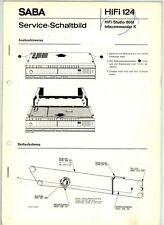 SABA Service-Manual HiFi-Studio 8061 telecommander K   HiFi124