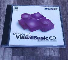 Microsoft Visual Basic 6.0 Professional full retail version