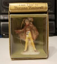 Norman Rockwell 1979 Tiny Tim Holiday Ornament - Gorham - Hanging Figurine
