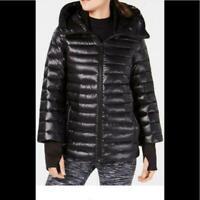 Calvin Klein Down-Filled Hooded Puffer Jacket M