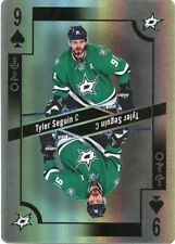 17/18 O-PEE-CHEE OPC PLAYING CARD FOIL NINE OF SPADES TYLER SEGUIN STARS *39362