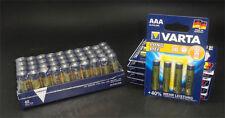 80 x VARTA Longlife Batterie - 40 x AAA LR03 4103 - 40 x AA 4106 LR6 Alkaline
