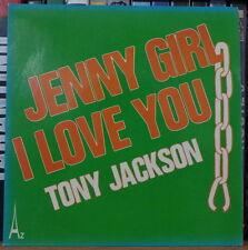 """TONY JACKSON JENNY GIRL I LOVE YOU 45t 7"""" FRENCH SP"""