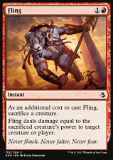 MTG 4x FLING - SCAGLIARE - AKH - MAGIC