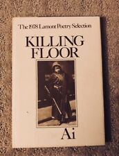Killing Floor by Ai Hardcover 1978 Lamont Poetry Selection Hardcover