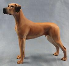 deutsche dogge figur hund North light hundefigur great dane alabaster gelb