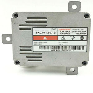 For VW CC Audi Xenon HID Headlight Ballast Control Unit Replacement 8K0941597B