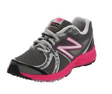 New Balance 790 Lace-Up Running Shoe KJ790GPG Grey/Pink,4.5 M US Little/Big Kid