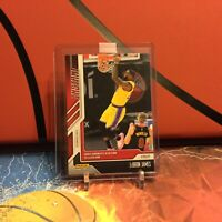 LEBRON JAMES 2021 PANINI INSTANT CARD #55 LOS ANGELES LAKERS
