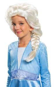 Elsa Child Braided Wig Costume Accessory NEW Frozen 2