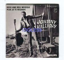 CD de musique rock pour chanson française, Johnny Hallyday