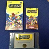 Last Bible III 3 Nintendo Super Famicom SNES Video Game Japan