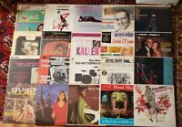 20 Jazz Big Band Vocal Orchestra Records LP Lot VG+-NM CLEANED RARE! $140+ #28