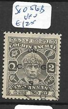 INDIA NATIVE STATE COCHIN (P1706B) 42A  SG056B   VFU