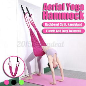Aerial Yoga Hammock Swing Trapeze Sling Elastic Stretch Anti-gravity  2020