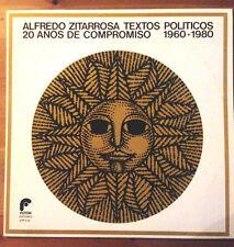 ALFREDO ZITARROSA textos politicos '80 LP very rare orig press Fotón stunning NM