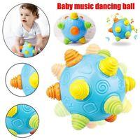 Baby Music Shake Dancing Ball Toy Free Bouncing Sensory Developmental Ball Gift