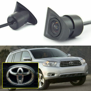 Front View Camera Logo Embedded 170° Full HD CCD for Toyota Highlander 2008-2010